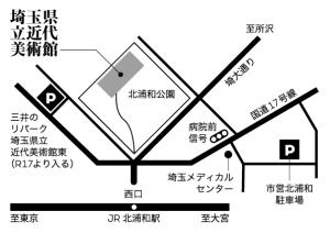 周辺地図(日本語)